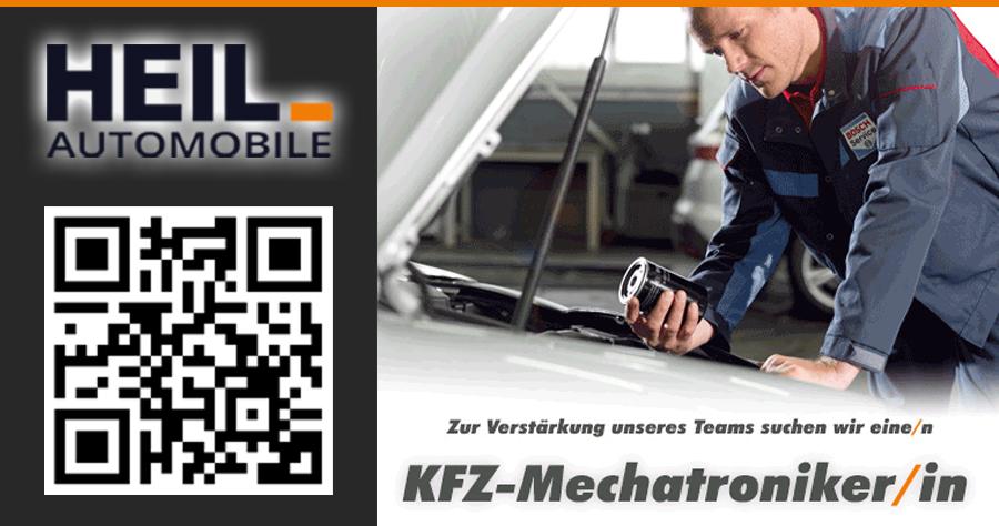 Komm ins Team! Kfz-Mechatroniker/in