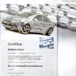 Bosch Zertifizierung M. Gothe